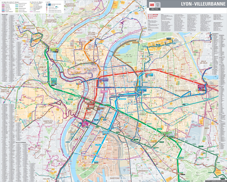 Lyon LyonFrankrikeauvergne Kart Alpes Buss Pdf Rhône c3RL5AqS4j